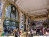 The amazing São Bento train station
